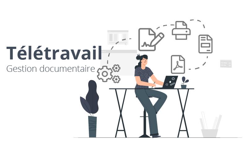 Télétravail et gestion documentaire : les 3 bonnes pratiques à adopter